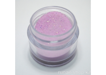 Цветная акриловая пудра (с блёстками, розовая, Sparkling Purplish Red), 7,5 г