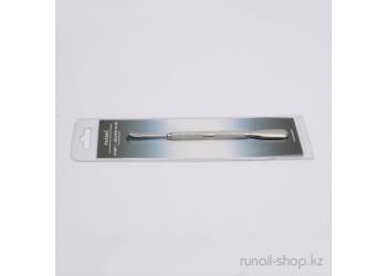 Пушер для маникюра (с лопаткой), RU-0154
