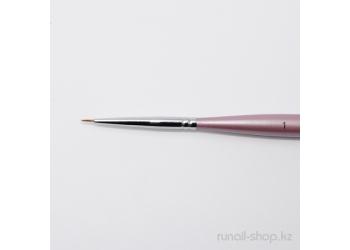 Кисть для дизайна ногтей Finest Kolinsky AKR №1