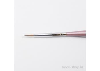 Кисть для дизайна ногтей Finest Kolinsky AKR №3