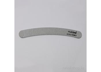 Пилка для искусственных ногтей (серая, бумеранг, 100/180)