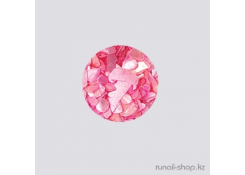 Дизайн для ногтей:  ракушки для ногтей (перламутрово-розовый)
