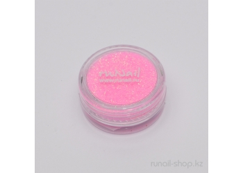 Дизайн для ногтей:  блёстки (бледно-розовый)