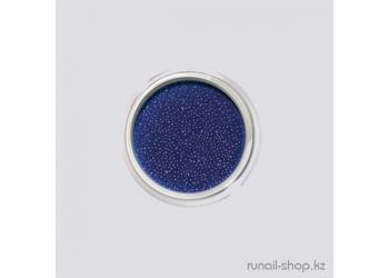 Бульонки для дизайна ногтей (темно-синий)