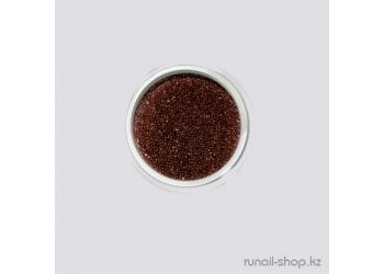 Бульонки для наращивания ногтей (коричневый)