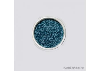Бульонки для ногтей (ярко-голубой)
