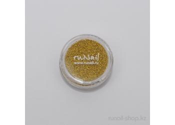 Бульонки для ногтей (золотой)