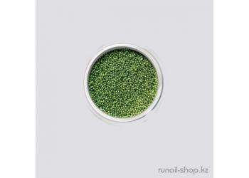 Бульонки для ногтей (зеленый)