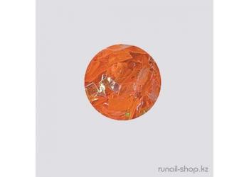 Дизайн для ногтей:  слюда для ногтей (светло-оранжевый)