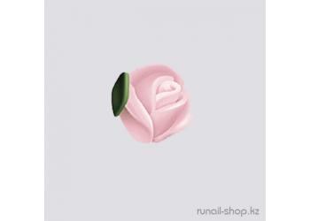 Пластиковые цветы для ногтей (голландская роза, нежно-розовый)