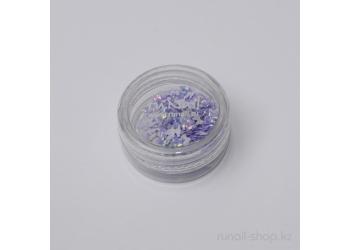 Дизайн для ногтей: бантики из ткани для ногтей (бледно-сиреневый)