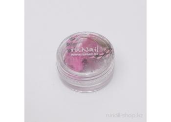 Перья для дизайна ногтей (бледно-розовый)