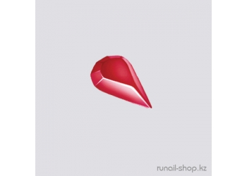 Пластиковые капельки для маникюра (красный)