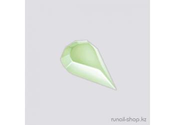 Пластиковые украшения для ногтей (капельки,нежно-зеленый)