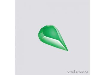 Пластиковые украшения для ногтей (капельки,зеленый)