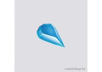 Пластиковые капельки для наращивания ногтей (голубой)