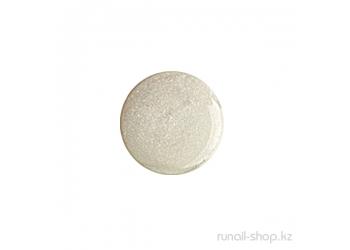 Цветной УФ-гель (с перламутром, Белый жемчуг, White Pearl), 7,5 г