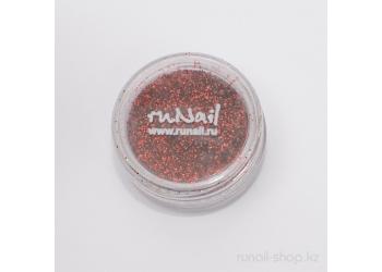 Дизайн для ногтей:  блёстки (темно-красный)