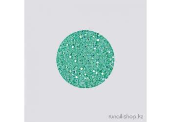 Дизайн для ногтей:  блёстки (ярко-зеленый)