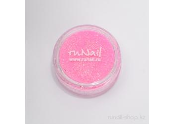 Дизайн для ногтей:  блёстки (розовый)