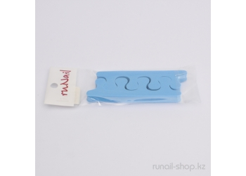 Разделители для пальцев ног (синие, 9 мм)