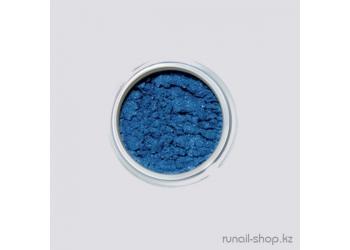 Дизайн для ногтей: пигмент для ногтей (синий)