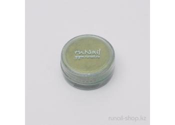 Дизайн для ногтей: пигмент для ногтей (зеленый)