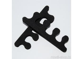Разделители для пальцев ног (черные, 9 мм)