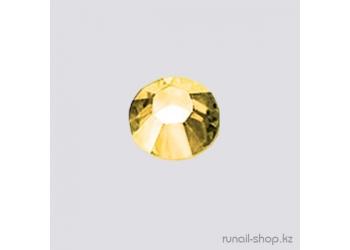 Стразы для наращивания ногтей золотые 1,5мм 50шт