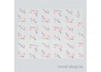 Наклейки для дизайна ногтей 3D (цветы) №1638