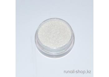 Пыль для ногтей (белый, матовый)
