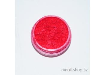 Пыль для ногтей (красный, матовый)