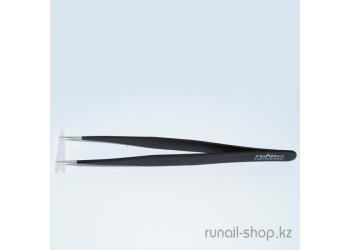 Пинцет для ресниц Luxury (прямой)