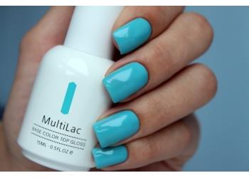 MultiLac, гель-лак 4 в 1 (классический, Голубые джинсы, Blue Jeans), 15 мл