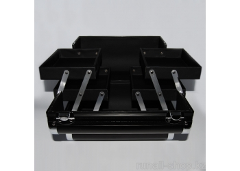 Саквояж (черный) 27х18х19,5 см
