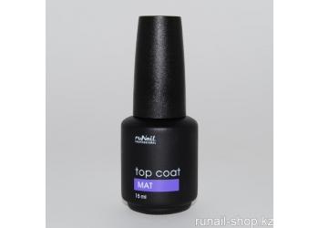 Матовый топ для гель-лака TopCoat Matt, 15мл