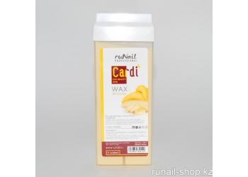 Воск для депиляции Cardi (Спелый банан), 100 мл