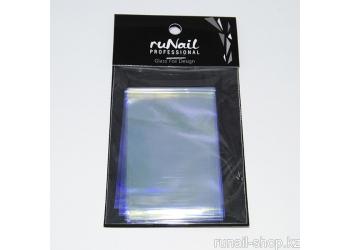 """Дизайн для ногтей: фольга с эффектом """"Битое стекло"""" (цвет: сиреневый) 4х100см"""