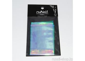 """Дизайн для ногтей: фольга с эффектом """"Битое стекло"""" (цвет: радужный) 4х100см"""