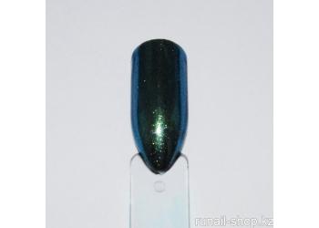 Зеркальная пыль для втирки с аппликатором (цвет:синий). 1г
