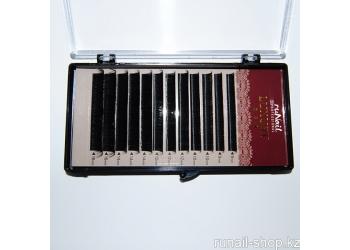Ресницы для наращивания Luxury, Ø 0,10 мм, Mix D, (№9,10,12,14,16), 12 линий