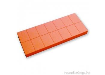 Баф мини (универсальный, оранжевый, 100/180), 14 шт