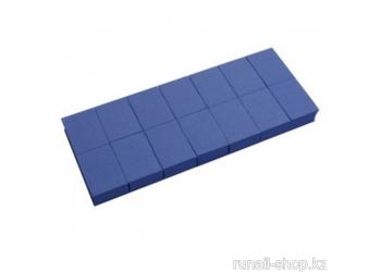Баф мини (универсальный, синий, 100/180), 14 шт