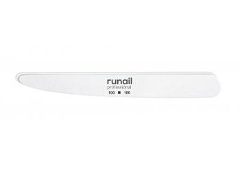 Профессиональная пилка для искусственных ногтей (белая, нож, 100/180) №4816