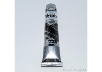 Акриловая краска Polycolor, 20 мл, серебро