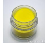 Цветная акриловая пудра (желтая, Pure Yellow), 7.5 г