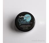 Цветная акриловая пудра (с блёстками, аквамариновая, Sparkling Aquamarine), 7,5 г