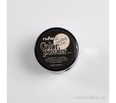 Цветная акриловая пудра (с блёстками, светло-серая, Sparkling Misty), 7,5 г