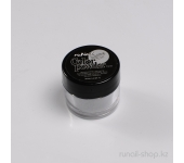 Цветная акриловая пудра (с блёстками, серебряная, Sparkling Silver), 7,5 г