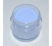 Цветная акриловая пудра (пастельный тон, голубая, Pastel Blue), 7,5 г